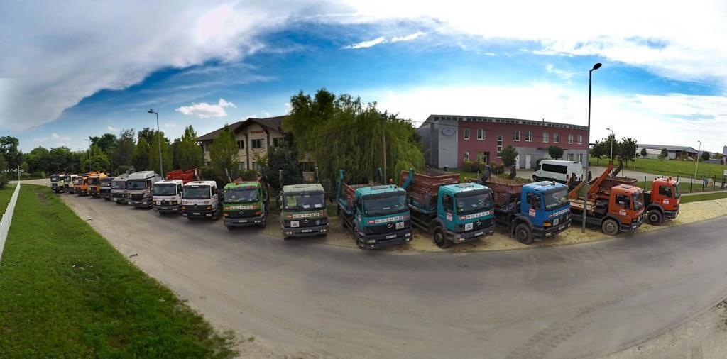konténeres szemétszállítás XIX. kerület Hunyadi utca