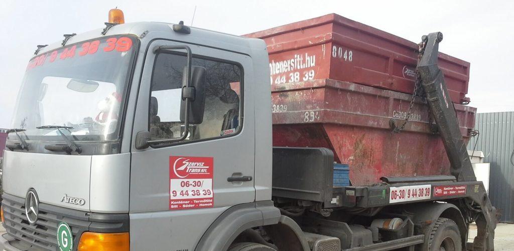 sitt konténer rendelés Csepel-Kertváros