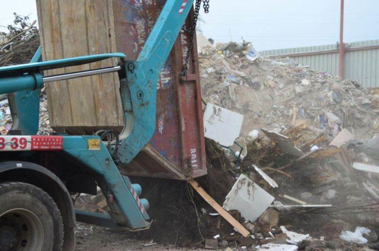 építési bontási hulladék lerakó Óbudaisziget